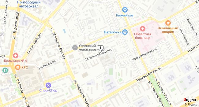 Купить склад 231 м<sup>2</sup> в Оренбурге по адресу Россия, Оренбург, Телевизионный переулок