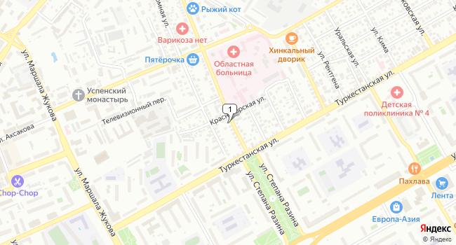Купить офис 810 м<sup>2</sup> в Оренбурге по адресу Россия, Оренбург, улица Степана Разина, 77