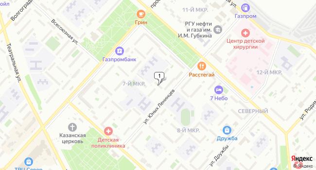 Купить коммерческую недвижимость 62 м<sup>2</sup> в Оренбурге по адресу Россия, Оренбург, улица Юных Ленинцев, 14