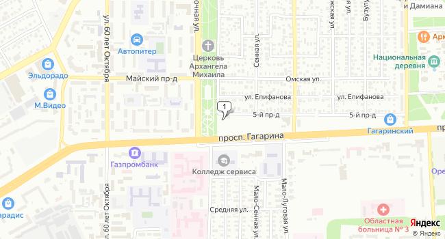 Арендовать офис 566 м<sup>2</sup> в Оренбурге по адресу Россия, Оренбург, Восточная улица, 2/2