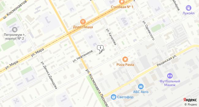 Арендовать офис 10 м<sup>2</sup> в Перми по адресу Россия, Пермь, улица Нефтяников, 27