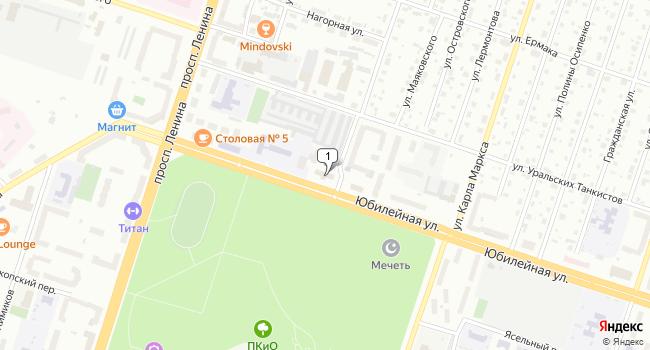 Купить офис 341 м<sup>2</sup> в Березниках по адресу Россия, Пермский край, Березники, Юбилейная улица, 17