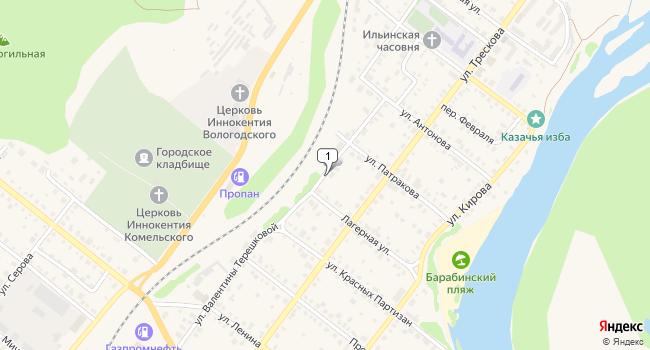 Арендовать торговую площадь 750 м<sup>2</sup> в Красноуфимске по адресу Россия, Свердловская область, Красноуфимск, улица В. Терешковой