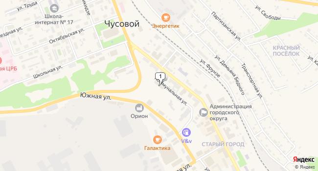Купить торговую площадь 765 м<sup>2</sup> в г. Чусовой по адресу Россия, Пермский край, Чусовой, Коммунальная улица, 10