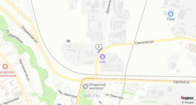 Купить торговую площадь 29728 м<sup>2</sup> в Орске по адресу Россия, Оренбургская область, Орск, Союзная улица, 5