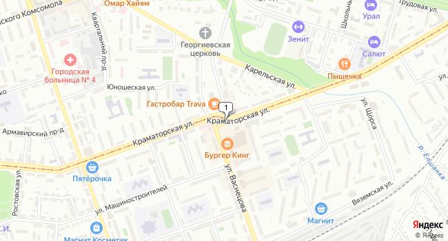 Арендовать торговую площадь 291 м<sup>2</sup> в Орске по адресу Россия, Оренбургская область, Орск, площадь Васнецова