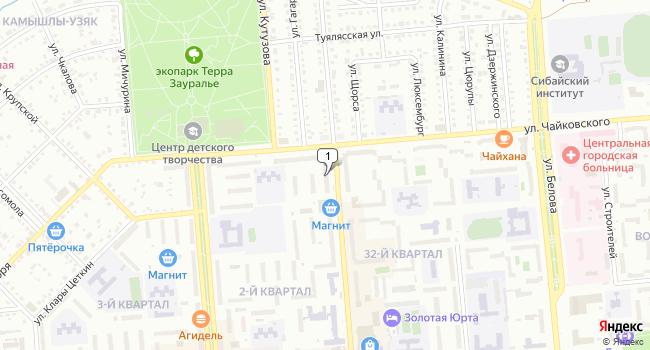 Купить торговую площадь 84 м<sup>2</sup> в Сибае по адресу Россия, Республика Башкортостан, Сибай, улица Заки Валиди, 61