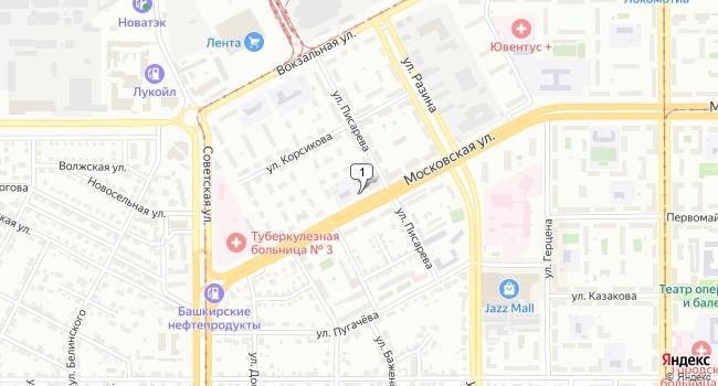 Арендовать коммерческую недвижимость 145 м<sup>2</sup> в Магнитогорске по адресу Россия, Челябинская область, Магнитогорск, Московская улица, 36