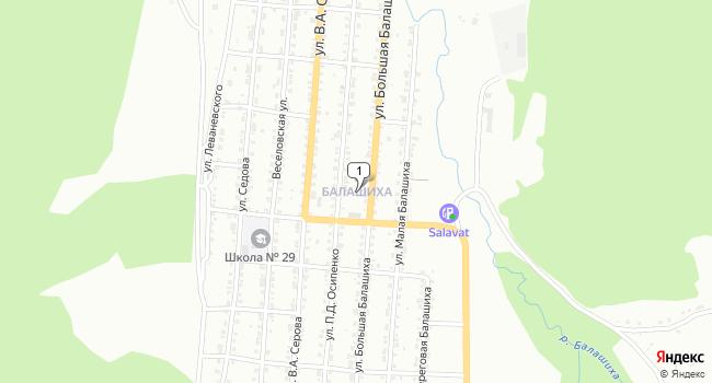Арендовать торговую площадь 42 м<sup>2</sup> в Златоусте по адресу Россия, Челябинская область, Златоуст, поселок Балашиха
