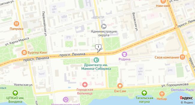 Арендовать склад 529 м<sup>2</sup> в Нижнем Тагиле по адресу Россия, Свердловская область, Нижний Тагил, проспект Ленина