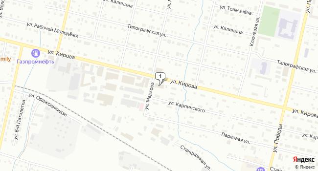 Купить торговую площадь 1469 м<sup>2</sup> в Серове по адресу Россия, Свердловская область, Серов, улица Кирова, 47