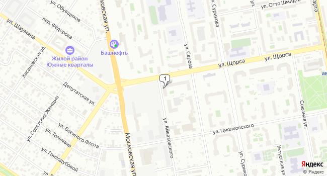 Арендовать торговую площадь 124 м<sup>2</sup> в Екатеринбурге по адресу Россия, Свердловская область, Екатеринбург, улица Щорса, 109