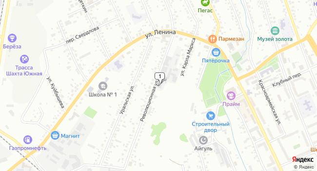 Арендовать коммерческую недвижимость 700 м<sup>2</sup> в Березовском по адресу Россия, Свердловская область, Березовский, Революционная улица, 11
