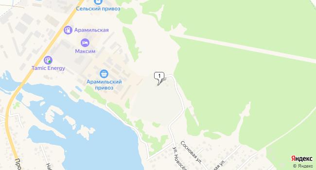 Арендовать торговую площадь 60 м<sup>2</sup> в Арамиле по адресу Россия, Свердловская область, Арамиль, Пролетарская улица, 82Б