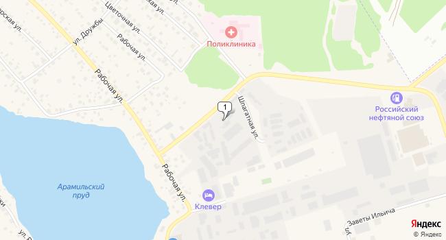 Арендовать торговую площадь 381 м<sup>2</sup> в Арамиле по адресу Россия, Свердловская область, Арамиль, Шпагатная улица, 1Б