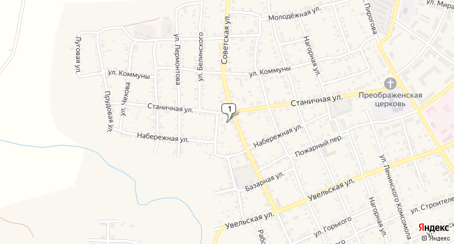 Купить коммерческую недвижимость 824 м<sup>2</sup> в г. Южноуральск по адресу Россия, Челябинская область, Южноуральск, Советская улица, 81 а