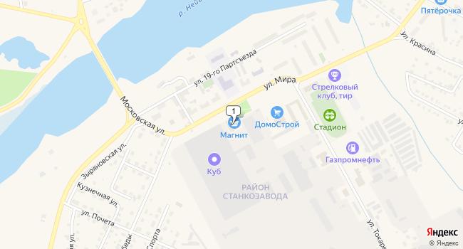 Арендовать торговую площадь 2000 м<sup>2</sup> в г. Алапаевск по адресу Россия, Свердловская область, Алапаевск, улица Мира, 2Б