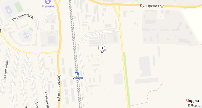 Арендовать склад 880 м<sup>2</sup> в Сухом Логу по адресу Россия, Свердловская область, Сухой Лог, Кунарская улица, 2
