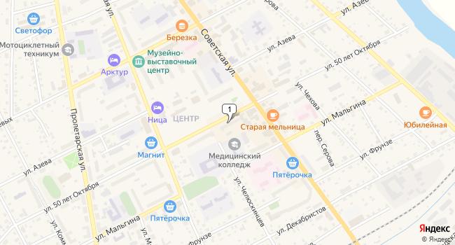 Купить коммерческую недвижимость 175 м<sup>2</sup> в Ирбите по адресу Россия, Свердловская область, Ирбит, улица 50 лет Октября, 30