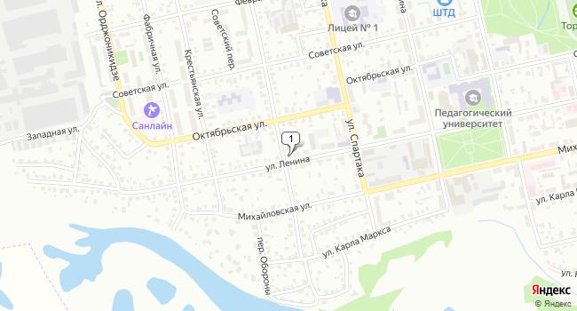 Арендовать коммерческую недвижимость 70 м<sup>2</sup> в Шадринске по адресу Россия, Курганская область, Шадринск, улица Ленина, 71