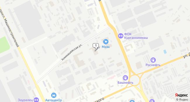 Арендовать производственное помещение 200 м<sup>2</sup> в Кургане по адресу Россия, Курган, Химмашевская улица, 6А