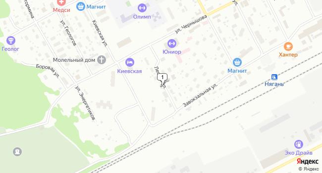 Купить склад 2200 м<sup>2</sup> в Нягани по адресу Россия, ХМАО, Нягань, 5