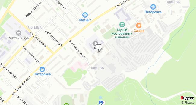 Купить коммерческую недвижимость 727 м<sup>2</sup> в Тобольске по адресу Россия, Тюменская область, Тобольск, 2-я Северная улица, 49
