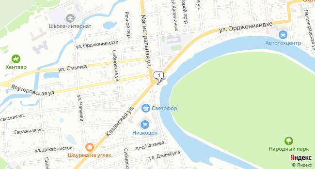 Купить торговую площадь 132 м<sup>2</sup> в Ишиме по адресу Россия, Тюменская область, Ишим, Казанская улица, 21