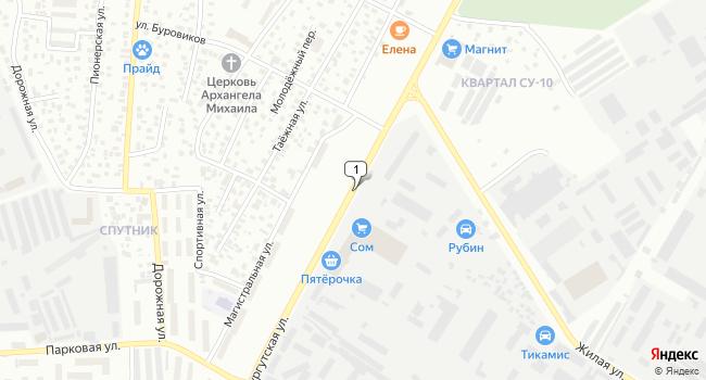 Арендовать офис 285 м<sup>2</sup> в Нефтеюганске по адресу Россия, ХМАО, Нефтеюганск, Сургутская улица