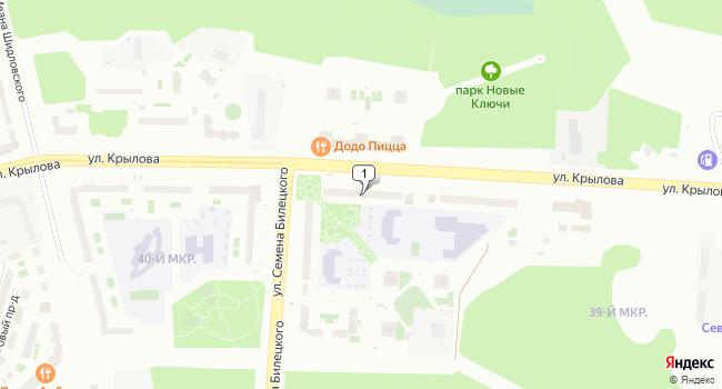 Арендовать коммерческую недвижимость 214 м<sup>2</sup> в Сургуте по адресу Россия, ХМАО, Сургут, улица Крылова, 36