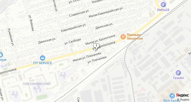 Арендовать офис 58 м<sup>2</sup> в Новосибирске по адресу Россия, Новосибирск, Планетная улица
