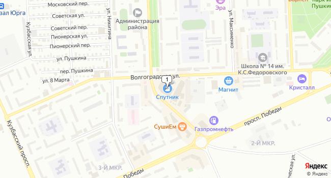 Купить коммерческую недвижимость 4083 м<sup>2</sup> в Юрге по адресу Россия, Кемеровская область, Юрга, улица Машиностроителей, 32