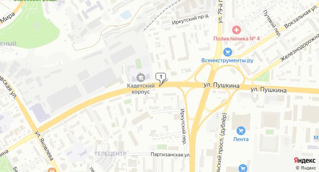 Арендовать офис 214 м<sup>2</sup> в Томске по адресу Россия, Томск, улица Пушкина