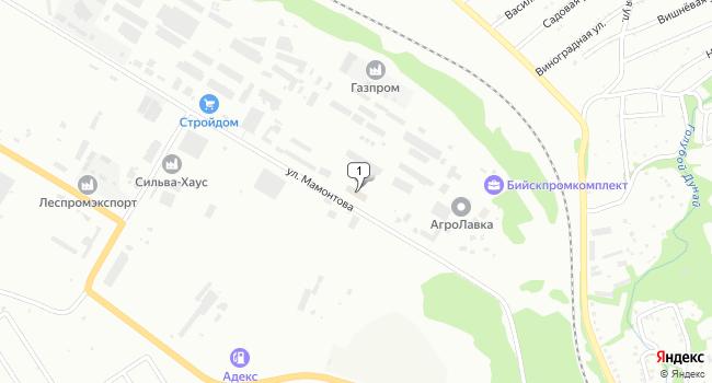Купить производственное помещение 1391 м<sup>2</sup> в Бийске по адресу Россия, Алтайский край, Бийск, улица Ефима Мамонтова, 18к1