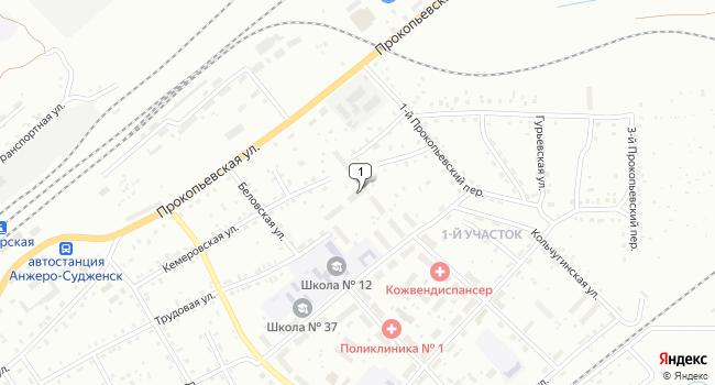 Купить производственное помещение 58 м<sup>2</sup> в Анжеро-Судженске по адресу Россия, Кемеровская область, Анжеро-Судженск, Трудовая улица, 59