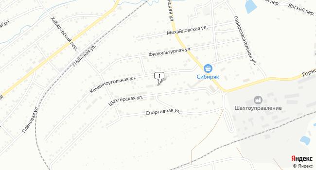 Купить производственное помещение 778 м<sup>2</sup> в Анжеро-Судженске по адресу Россия, Кемеровская область, Анжеро-Судженск, Шахтёрская улица, 12
