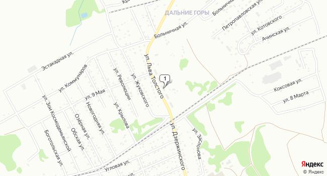 Купить офис 40 м<sup>2</sup> в Киселёвске по адресу Россия, Кемеровская область, Киселёвск, улица Толстого, 5