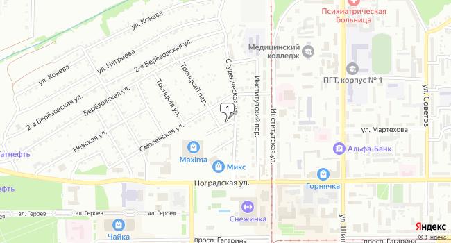 Арендовать коммерческую недвижимость 550 м<sup>2</sup> в Прокопьевске по адресу Россия, Кемеровская область, Прокопьевск, улица Братства, 4