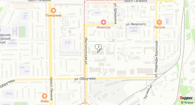 Купить торговую площадь 2160 м<sup>2</sup> в Прокопьевске по адресу Россия, Кемеровская область, Прокопьевск, улица Петренко, 25