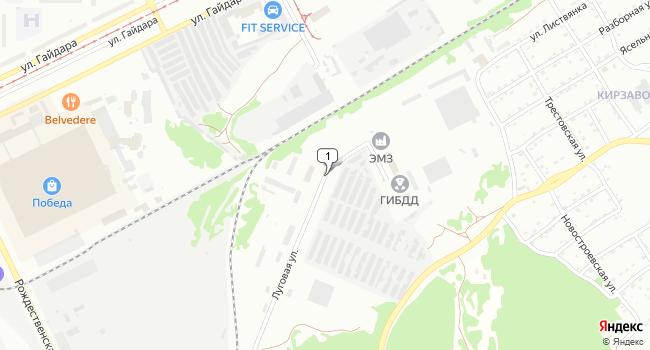 Купить коммерческую недвижимость 5600 м<sup>2</sup> в Прокопьевске по адресу Россия, Кемеровская область, Прокопьевск, Луговая улица