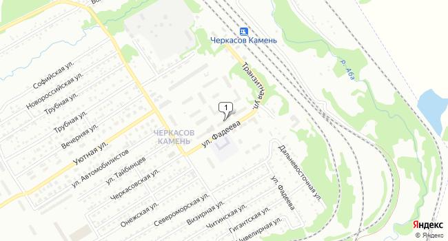 Купить торговую площадь 36 м<sup>2</sup> в Киселёвске по адресу Россия, Кемеровская область, Киселёвск, улица Фадеева, 10Б