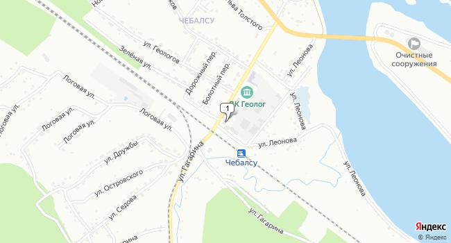 Купить торговую площадь 4750 м<sup>2</sup> в Междуреченске по адресу Россия, Кемеровская область, Междуреченск, улица Гагарина, 9А