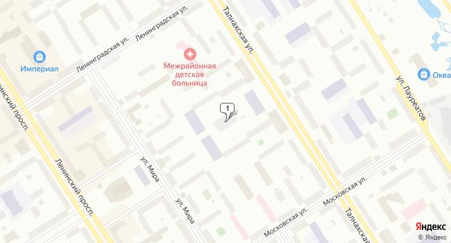 Купить коммерческую недвижимость 4400 м<sup>2</sup> в Норильске по адресу Россия, Красноярский край, Норильск, Талнахская улица, 51А