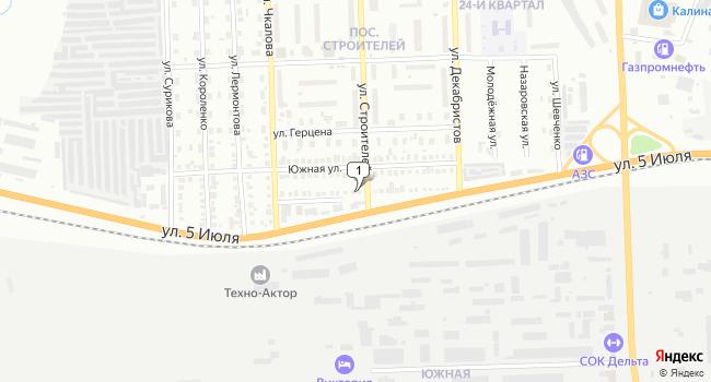 Купить торговую площадь 576 м<sup>2</sup> в Ачинске по адресу Россия, Красноярский край, Ачинск, улица 5 Июля, 28