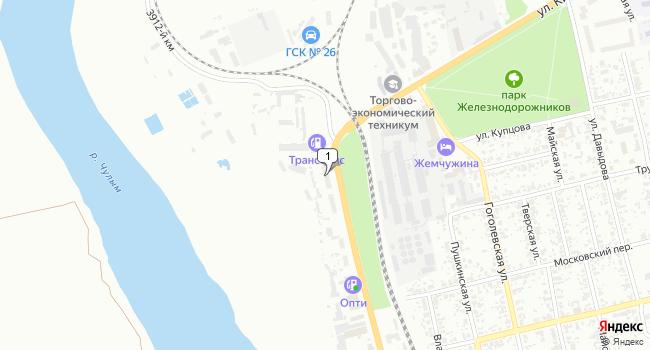 Купить торговую площадь 510 м<sup>2</sup> в Ачинске по адресу Россия, Красноярский край, Ачинск, улица Льва Толстого, 61