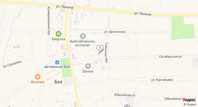 Купить торговую площадь 51 м<sup>2</sup> в Абакане по адресу Россия, Республика Хакасия, Бейский район, село Бея, Октябрьская улица, 106