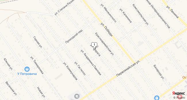 Арендовать отдельное здание 41 м<sup>2</sup> в Тайшете по адресу Россия, Иркутская область, Тайшет, улица Марата, 52