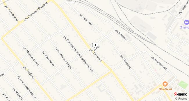 Купить офис 500 м<sup>2</sup> в Тайшете по адресу Россия, Иркутская область, Тайшет, улица Ленина, 55