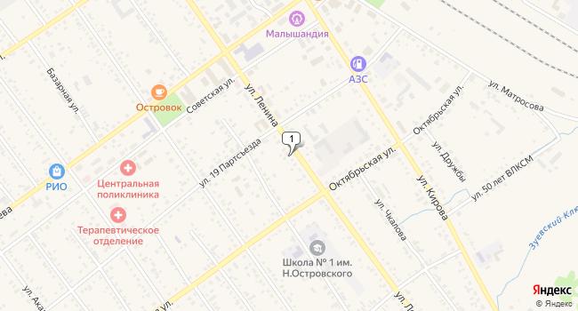 Купить торговую площадь 57 м<sup>2</sup> в Тайшете по адресу Россия, Иркутская область, Тайшет, улица Ленина, 142