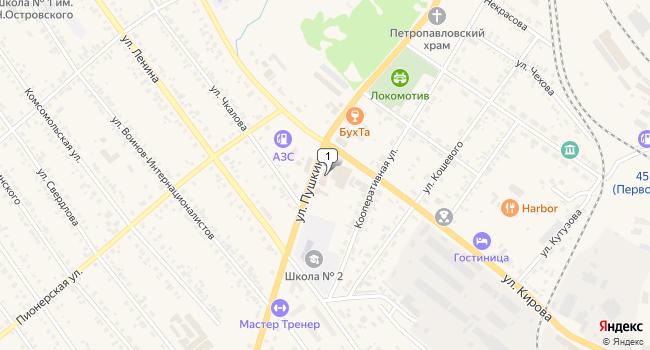 Арендовать торговую площадь 1000 м<sup>2</sup> в Тайшете по адресу Россия, Иркутская область, Тайшет, улица Пушкина, 39Б
